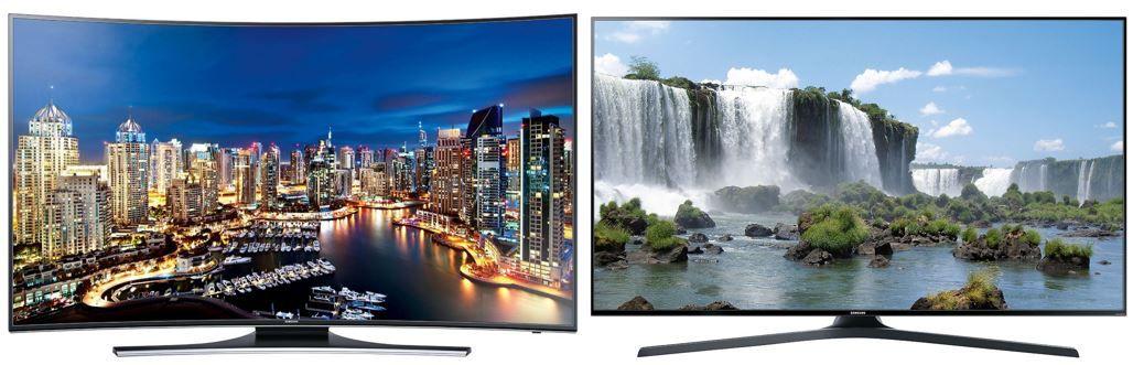 3 Samsung TVs bei Amazon nur heute mit bis zu 15% Reduzierung z.B. Samsung UE55HU7200 55 Zoll curved TV für 1.049€