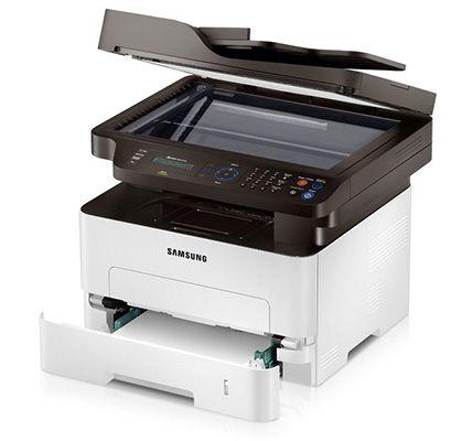 Samsung Xpress M2875FD 4 in 1 Mono Laserdrucker für 105,13€   S/W, Duplexdruck, Fax und Scanner