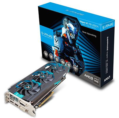 Sapphire Radeon R9 280X Vapor X Tri X 3GB PCIe 3.0 x16 Full Retail für 216,99€
