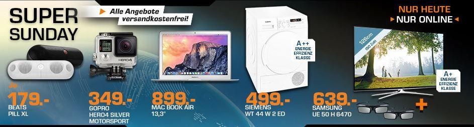 BEATS Beats Pill XL Wireless Speaker statt 217€ ab 175€ und mehr gute Saturn Super Sunday Angebote   Update