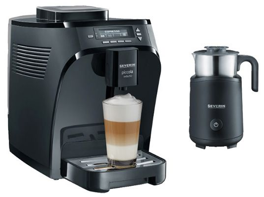 Severin KV 8081 Piccola Induzio Kaffeevollautomat mit Induktions Milchaufschäumer für 272€