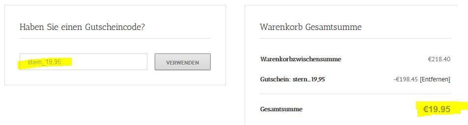 Stern Jahresabo mit 52 Ausgaben statt 218€ für 19,90€