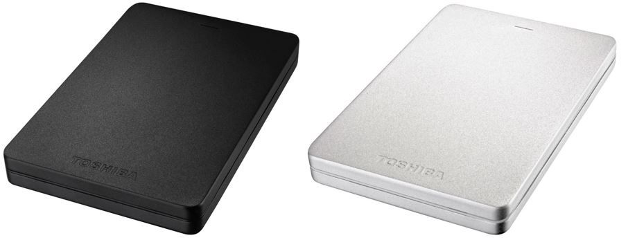 Toshiba Canvio   1TB ext. USB3 Festplatte in schwarz & silber für 49€