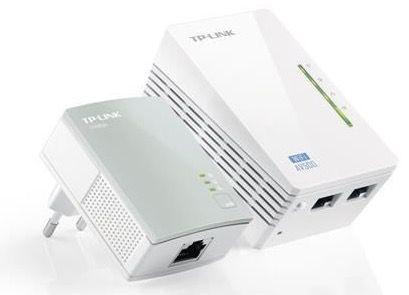 TP LINK TL WPA4220KIT TP Link  TL WPA4220KIT WLAN Powerline AV500 Extender Starter Kit für 29,90€