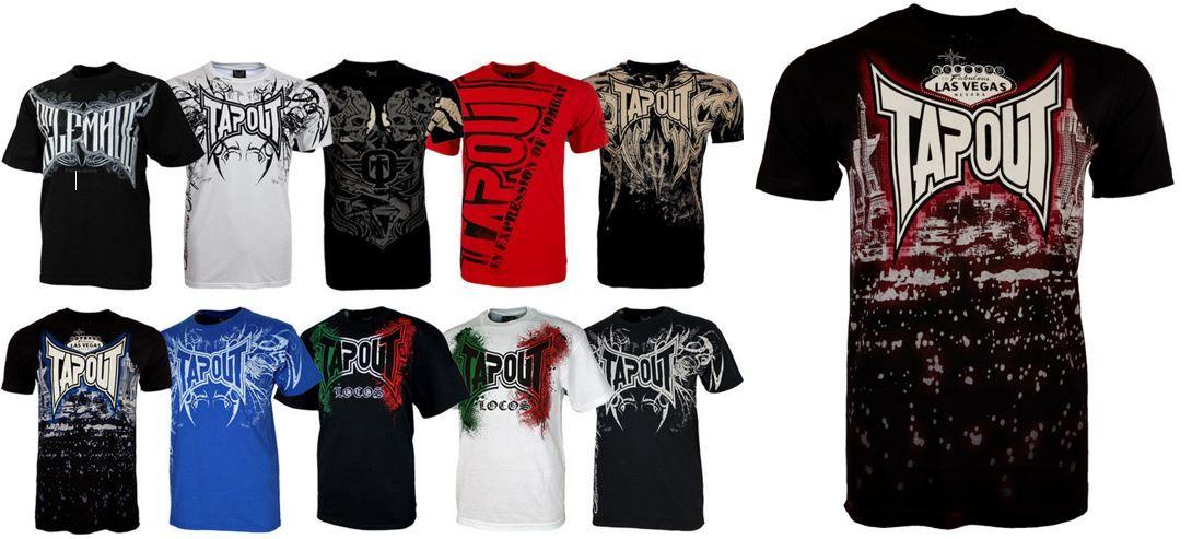 Tapout   US Herren T Shirts verschiedene Styles für je 9,99€