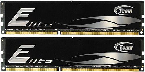 TeamGroup Elite Black PC3 12800 TeamGroup Elite Black PC3 12800 DDR3 1600 CL11 8GB KIT Arbeitsspeicher für 42,90€