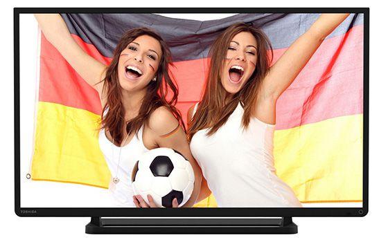 Toshiba 40L2433DG   40 Zoll Full HD Fernseher mit Twin Tuner für 279€