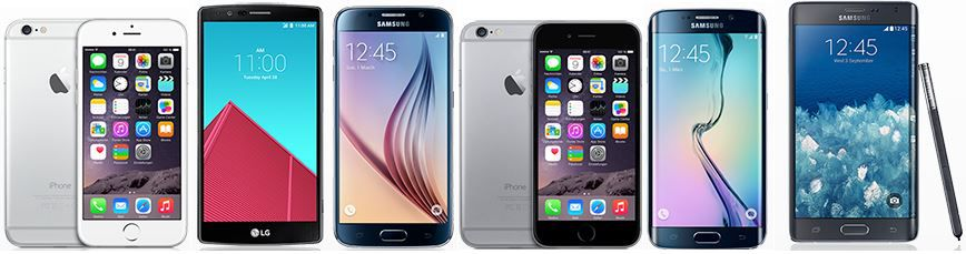 Apple iPhone 6 + Vodafone Red AllNet + SMS + 1,5GB LTE DatenFlat (100 Mbit/s) für 39,99€/mtl. oder andere Top Smartphones