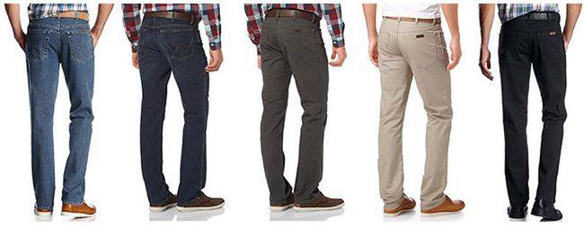 Wrangler 5 Pocket Jeans Wrangler 5 Pocket Jeans Stretch in verschiedenen Farben ab 19,99€