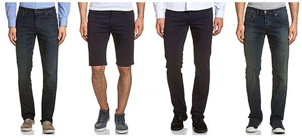Wrangler Herren Jeans   10 Modelle für je 24,95€