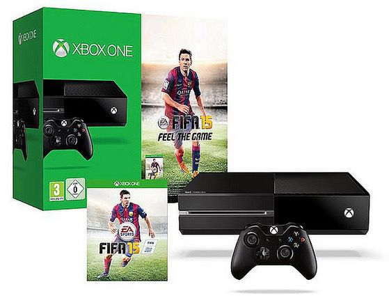 Xbox One 500GB + Fifa 15 ab 334€   Update
