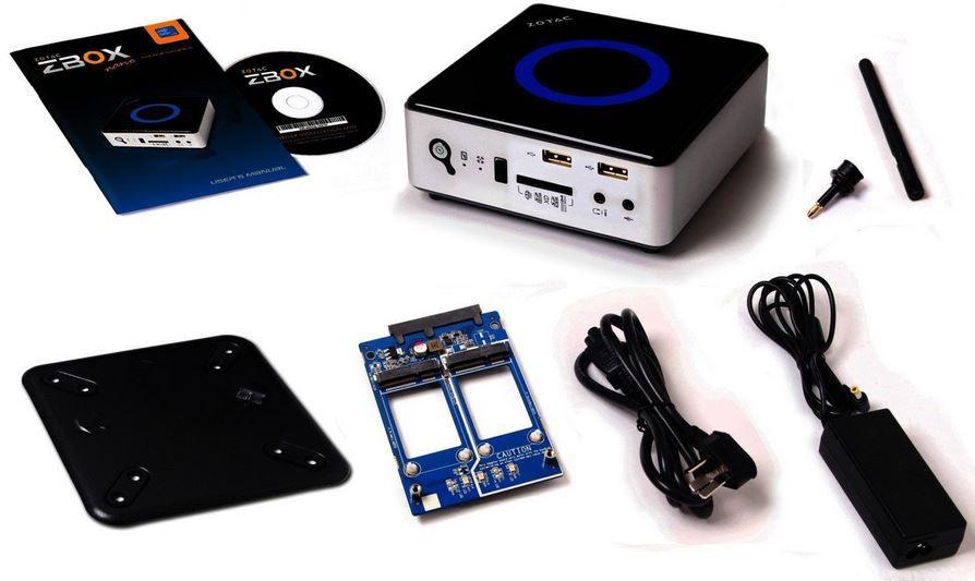 ZOTAC ZBOX NANO ID65   Barebone mini PC mit i7 CPU und intel HD4000 für 289,90€