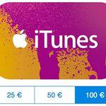 iTunes Guthaben mit bis 20% Rabatt bei den Paypal Gifts