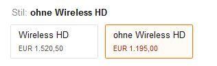 Epson EH TW6600   3D LCD Projektor (2.500ANSI) für effektiv 1.045€