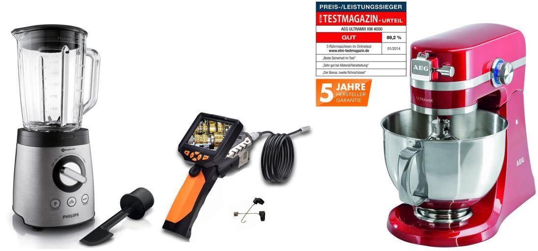 AEG UltraMix KM 4000   Küchenmaschine   bei den 54 Amazon Blitzangeboten bis 11Uhr