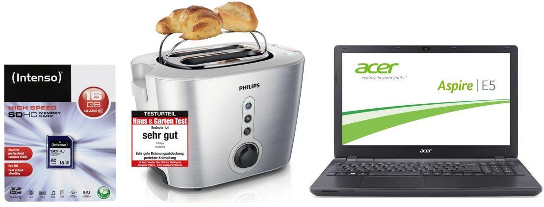 Acer Aspire E5 571G  15,6 Zoll HD Notebook mit i5 5200U, 2,7GHz, 8GB, 500GB, Nvidia GeForce 820M   bei den 45 Amazon Blitzangeboten bis 11Uhr