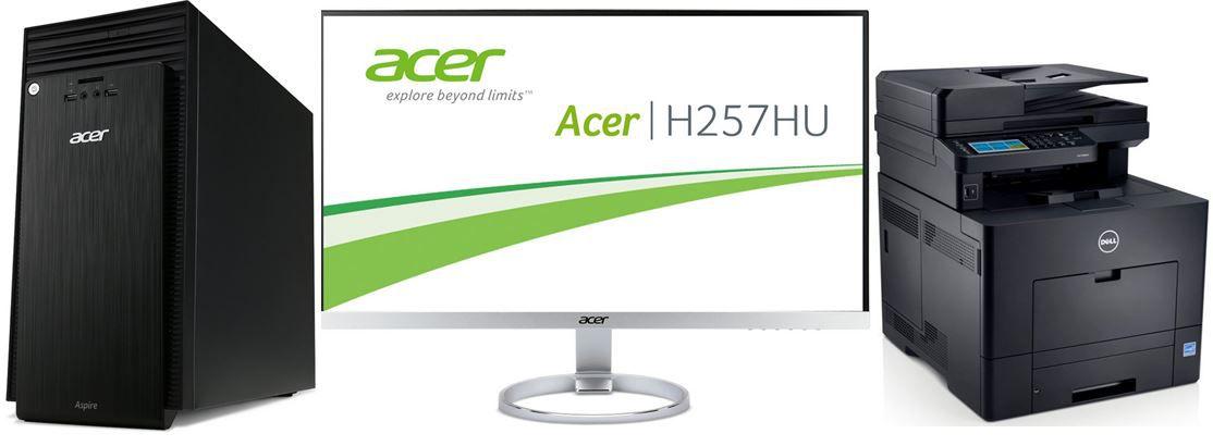 Acer H257   25 Zoll Zero Frame Monitor   bei den 92 Amazon Blitzangeboten bis 11Uhr