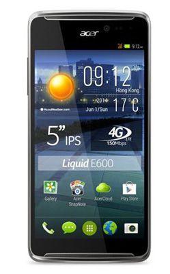 Acer Liquid E600 Plus Acer Liquid E600 Plus für 129€   5 Zoll, 1,3 GHz, 16GB, LTE