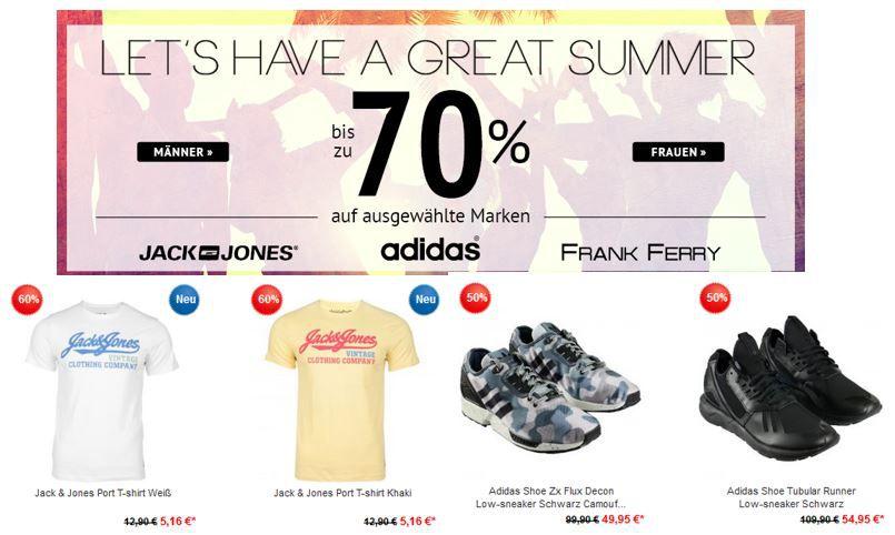 Jack & Jones, Adidas und Frank Ferry mit bis zu 70% Rabatt auf alle Artikel @Hoodboyz