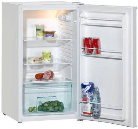 Amica Kühlschrank AMICA VKS 15294W   98l Tischkühlschrank mit EEK A+ für 99,99€