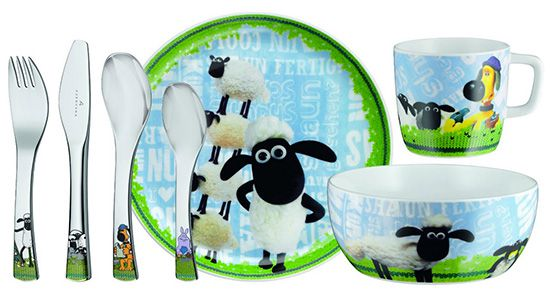 WMF Shaun das Schaf Kinderset 7 teilig für 24,95€ (statt 34€)