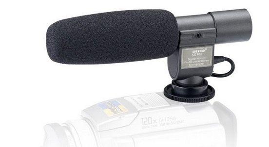 Aufsteckmikrofon SG 108 für verschiedene Kameras für 22,77€   China Gadget!