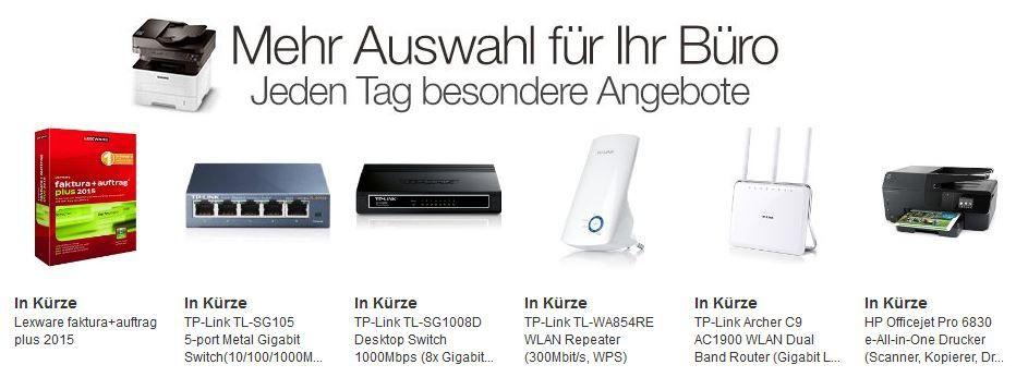 Büro Rabatt HP Officejet Pro 6830 e All in One Drucker  bei den Amazon Büro Dealtagen von 9 bis 16Uhr