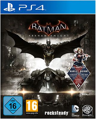 Batman: Arkham Knight + DLC Harley Quinn (PS4) für 34,79€