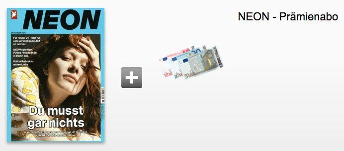 Bildschirmfoto 2016 11 04 um 11.16.48 NEON mit 12 Ausgaben ab effektiv 4,40€