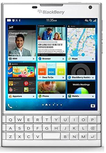 BlackBerry Passport   Smartphone mit  4,5 Zoll Display statt 311€  als WHD für nur 164,12€