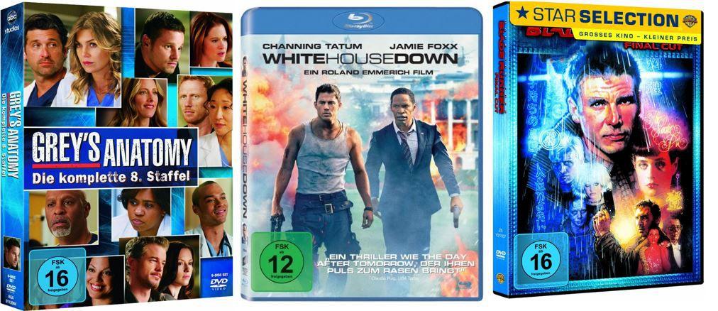 Action & SciFi Filme reduziert  und mehr Amazon DVD oder Blu ray Angebote