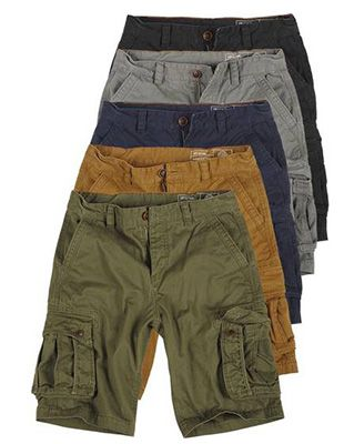 Blend 703415ME Herren Cargo Shorts in 5 Farben für je 26,95€