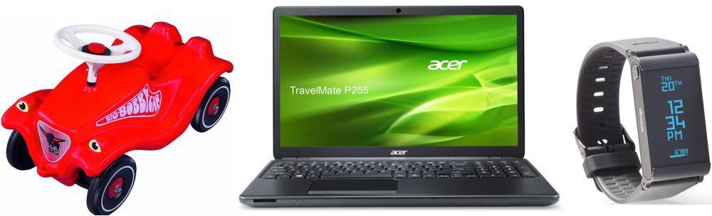 Acer TravelMate P255   15,6 Zoll Notebook mit i5 für Statt 599€ für 282,42€ und mehr Warehouse Angebote