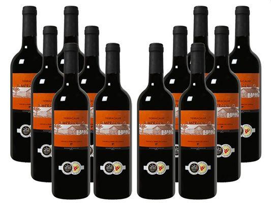 12 Flaschen Bodegas Navarro Lopez   Tierra Calar   VdT de Castilla Rotwein für 41,50€