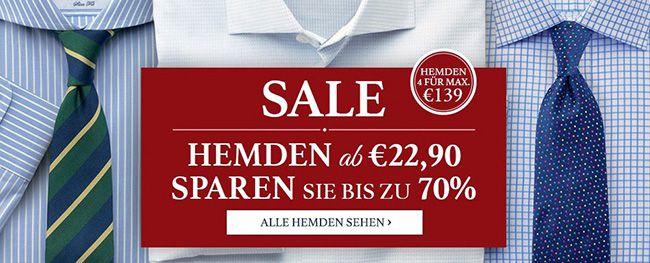 Charles Thyrwitt Hemden ab 7,90€   teilweise mit kostenloser Lieferung