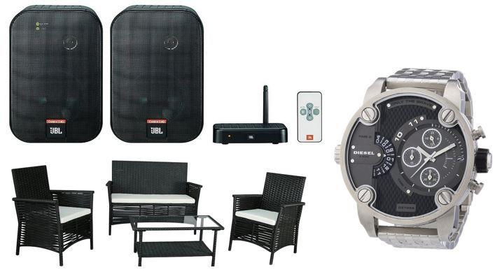 DIESEL UHR JBL Control 2.4 G Wireless Lautsprecher für 139€   bei den 46 Amazon Blitzangeboten ab 18Uhr