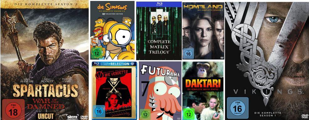 DVD & Blu-ray Angebote der Woche