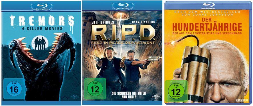 3 TV Serien zum Preis von 2 + Amazon DVD oder Blu ray Angebote   Update