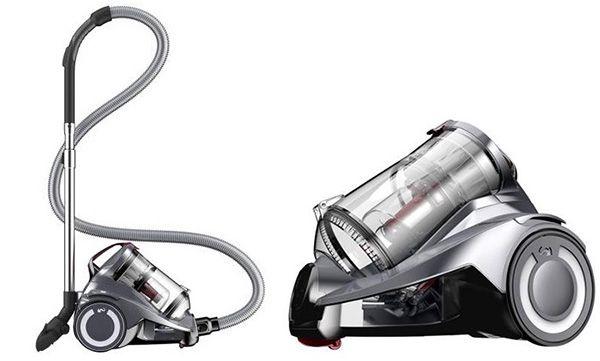 DirtDevil DD5551 3 Infinity Rebel 53HF beutelloser Multicyclone Staubsauger für 63,99€