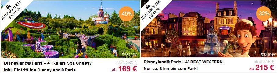 Disneyland Paris mit Hotel
