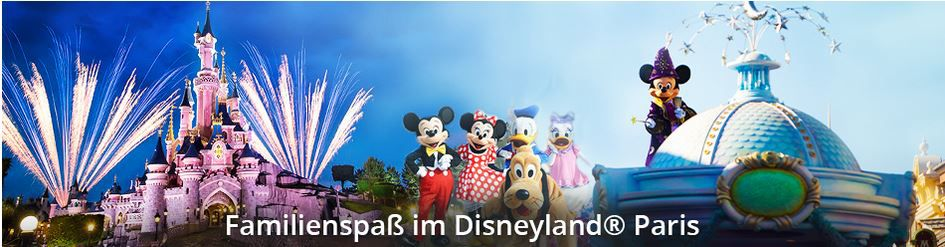 Kurzurlaub Disneyland Paris ab 145€   z.B. Golden Tulip 4*Hotel + Ticket bei Travador