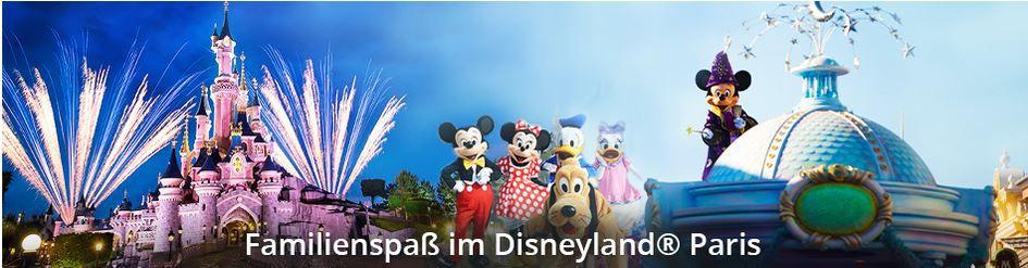 Disneyland Kurzurlaub Disneyland Paris ab 145€   z.B. Golden Tulip 4*Hotel + Ticket bei Travador