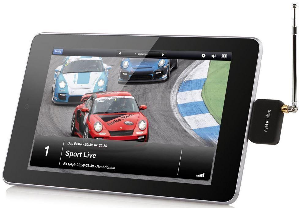 Elgato EyeTV   TV Tuner für Micro USB (Android Gerät) für 26,99€