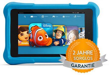 Fire HD Kids Edition 7 Zoll HD Display, WLAN, 16GB + Kindgerechte Schutzhülle ab 89€   PrimeDay Deal