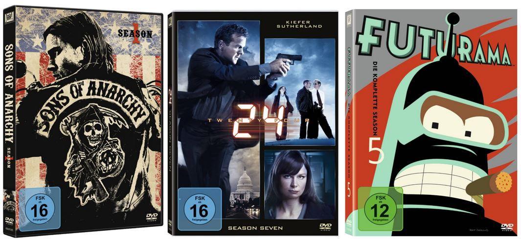 2 Serien für 20€ und mehr Amazon DVD oder Blu ray Angebote