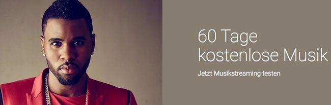 60 Tage Google Play Musik oder Spotify kostenlos für Neukunden