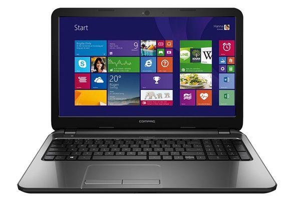 HP Compaq 15 s120ng   15,6 Zoll Notebook (2,6 GHz, 4GB Ram, 500GB, Win 8.1) für 226,99€