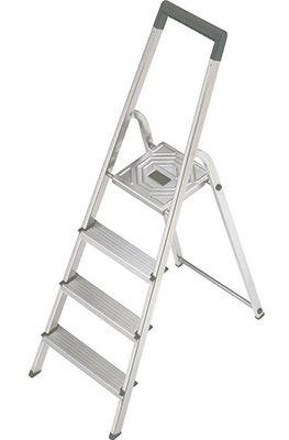 Hailo 8924 321 Aluminium 4 Stufen Stehleiter für 29,99€