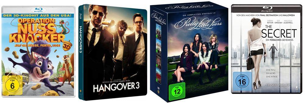 Hangover 3 Steelbook ab 9,97€ bei den Amazon DVD und Blu ray Angeboten der Woche