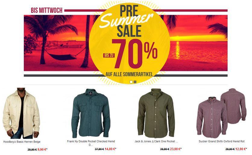 Hoodboyz Pre Summer Sale mit bis zu 70% Rabatt auf ausgewählte Artikel